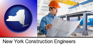 a construction engineer in New York, NY