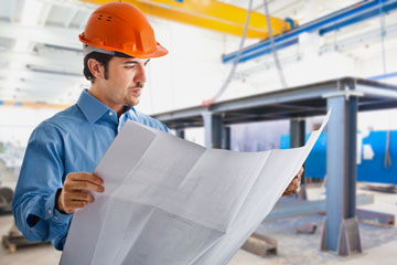 a construction engineer